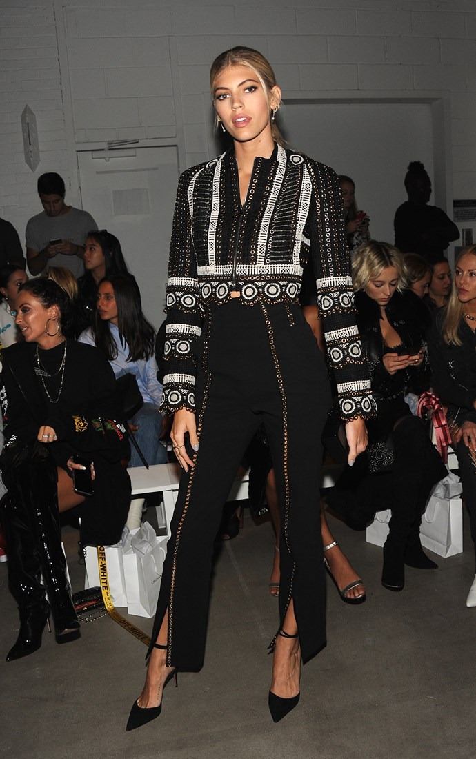 Devon Windsor, at Jonathan Simkhai