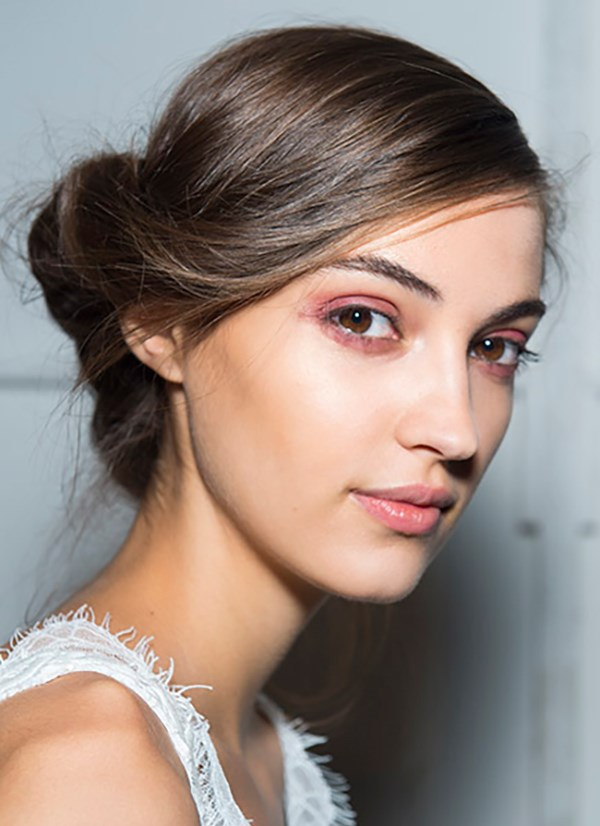 **Brock Collection:** Makeup artist Gucci Westman is making us rethink pink eyeshadow. The burnt/bronzed pink lids she created backstage at Brock are set to be a go-to hue for spring. Use [Maybelline The Blushed Nudes Eye Shadow Palette](https://www.maybelline.com.au/eye-makeup/eyeshadow/the-blushed-nudes-eye-shadow-palette) to create a similar shade, then finish with mascara. Add a natural, dewy lip using [Baby Lips Moisturising Lip Balm](https://www.maybelline.com.au/lip-makeup/lip-balm/baby-lips-moisturizing-lip-balm/anti-oxidant-berry) and a dab of [Color Sensational Creamy Matte Lip Color in Touch of Spice](https://www.maybelline.com.au/lip-makeup/lip-color/color-sensational-creamy-matte-lip-color/touch-of-spice).