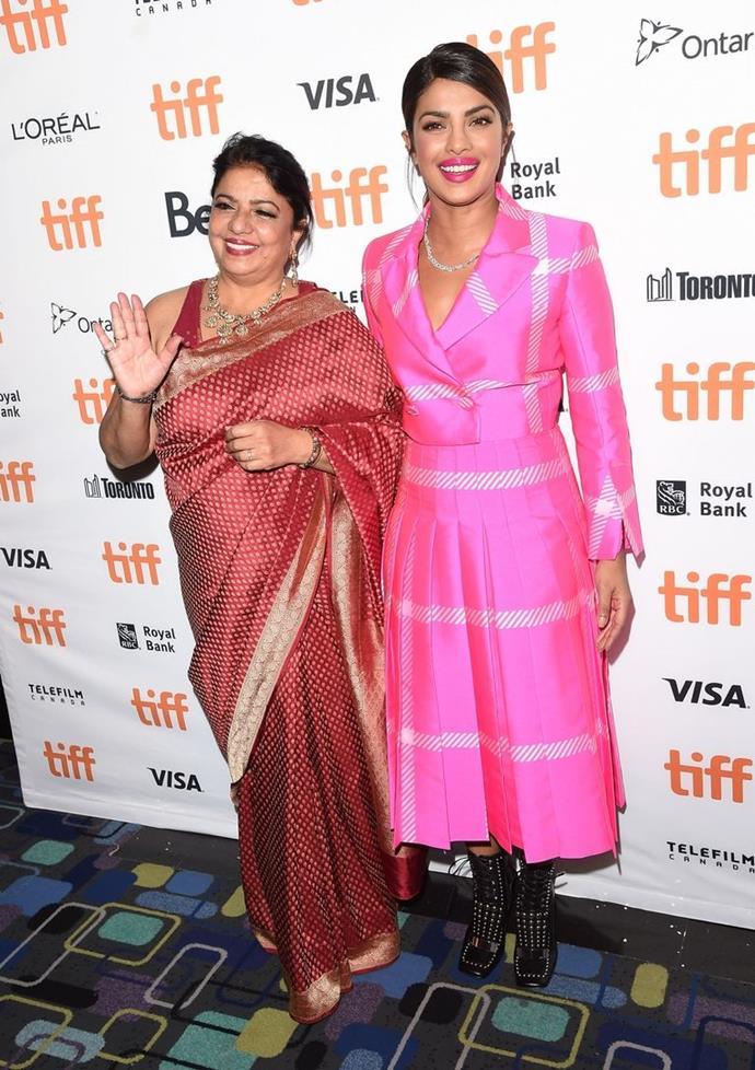 Madhu and Priyanka Chopra