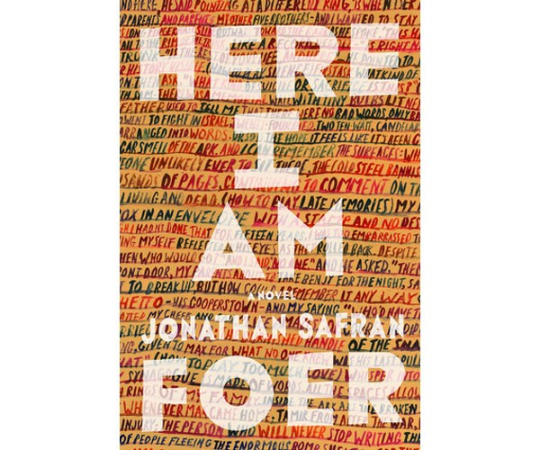 """**Jonathon Safran Foer's *Here I Am*** <br> <br> """"He jerked off with the determination of someone within sight of Everest's summit, having lost all his friends and Sherpas, having run out of supplemental oxygen, but preferring death to failure."""""""