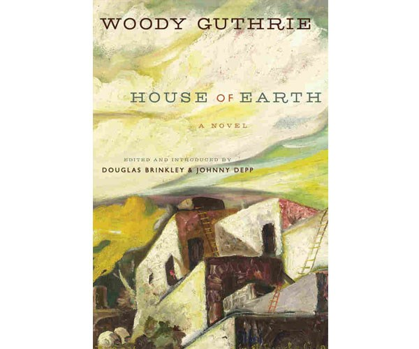 """**Woody Guthrie's *House of Earth*** <br> <br> """"And inwardly she caressed, touched, petted, and fondled, squeezed, the whole length and all of the sides of the penis. And this caused her to work and to move and to roll and to breathe hard, to forget her name, her own self completely. She felt her organs fondle, and she felt them squeeze, suck, gently, easily, softly, smoothly, wet, damp slick …"""""""