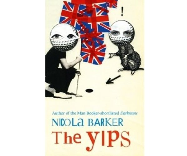 """**Nicola Barker's *The Yips*** <br> <br> """"She smells of almonds, like a plump Bakewell pudding; and he is the spoon, the whipped cream, the helpless dollop of warm custard. She steams. He applauds, his tongue hanging out (like a bloodhound espying a raw chop in a cartoon). She is topped with melted apricot jam. It makes her shine. Beneath that: the spongy gold, the give, the softness. Then still further down, the firmer butteriness of a thin-baked layer of crumbling shortcrust."""""""