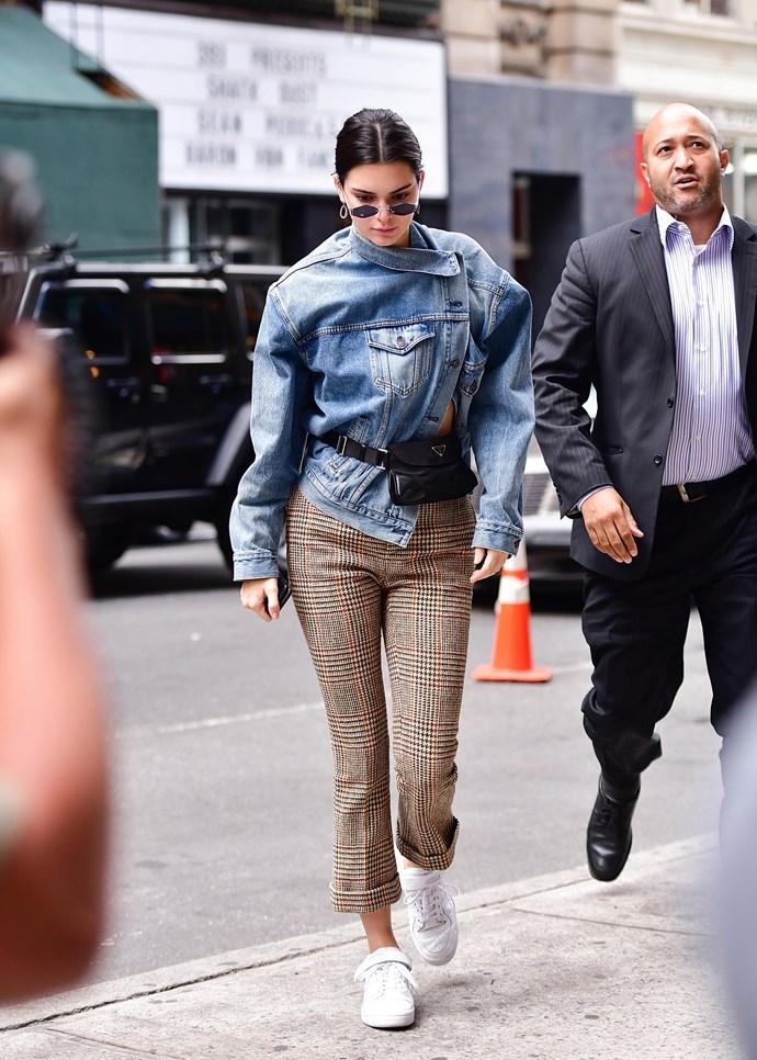 Kendall Jenner in Balenciaga