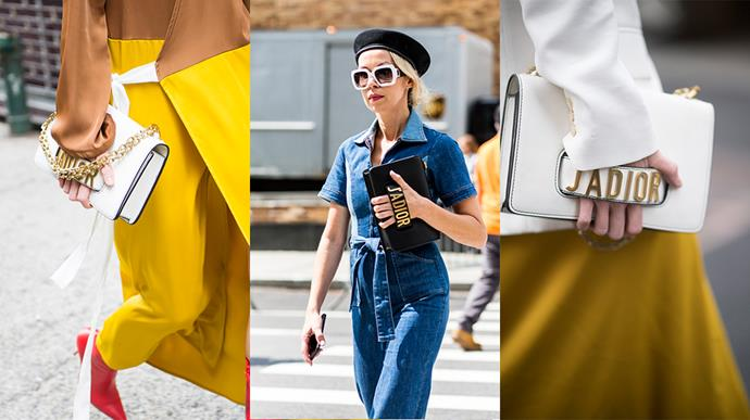 **Dior [Flap Bag](https://www.dior.com/couture/en_int/womens-fashion/bags/flap-bags)**<br><br> Spotted: 5 bags.