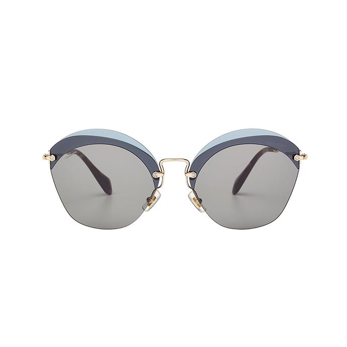 For a subtle statement–and an accessory you'll wear all summer long–these frames are ideal. Sunglasses, $319, [Miu Miu](http://www.matchesfashion.com/au/products/Miu-Miu-Cat-eye-frame-metal-sunglasses-1179473) at Matches Fashion