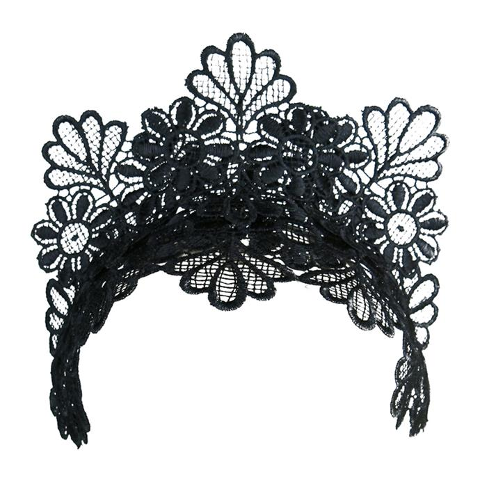 This chic lace headband has a timeless appeal, and will look amazing paired with a red lip. Crown, $149.95, [Morgan & Taylor](https://www.myer.com.au/shop/mystore/fascinators-racing-hats/morgan---taylor-lace-crown-540306730-540289360--1) at Myer