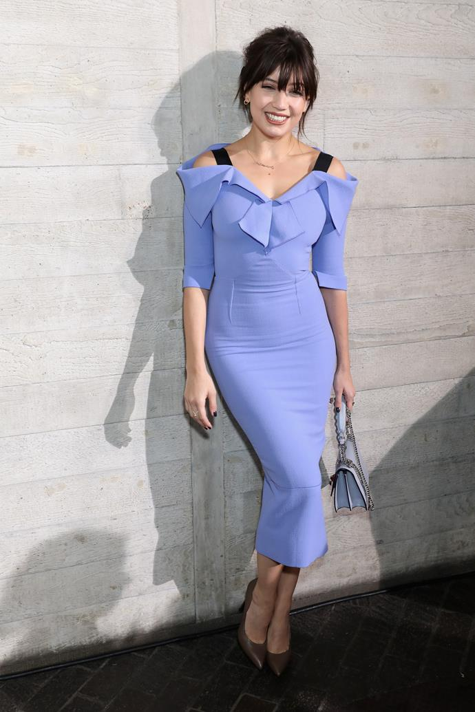 Daisy Lowe at Roland Mouret