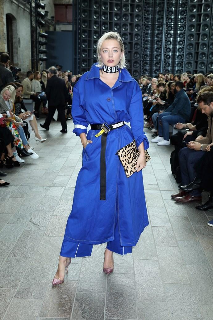 Caroline Vreeland at VERSUS Versace