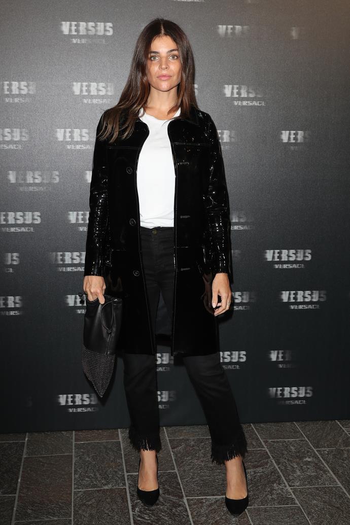 Julia Restoin Roitfeld at VERSUS Versace