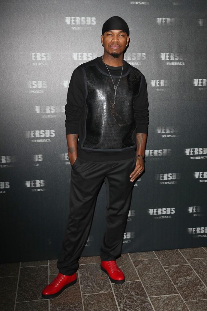 Ne-Yo at VERSUS Versace