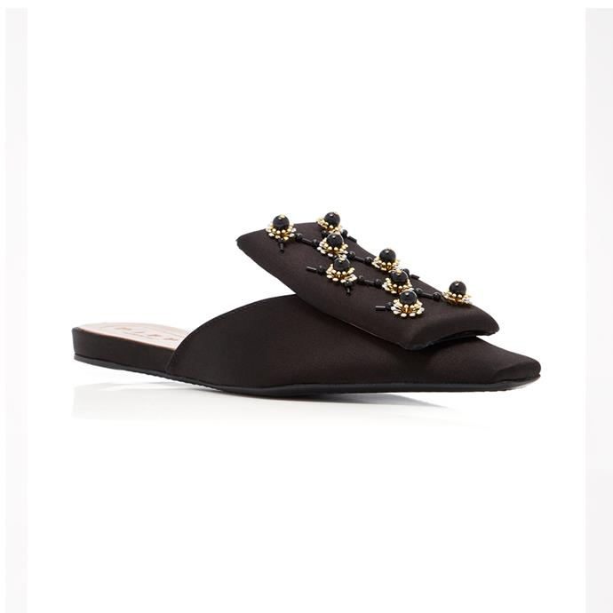Make a statement in flats with these embellished satin slippers. Flats, $915.07 [Marni](https://www.net-a-porter.com/au/en/product/916528/Marni/embellished-satin-slippers) at Net-a-Porter
