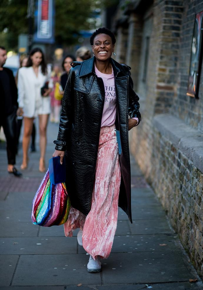 *ELLE* UK accessories editor Donna Wallace