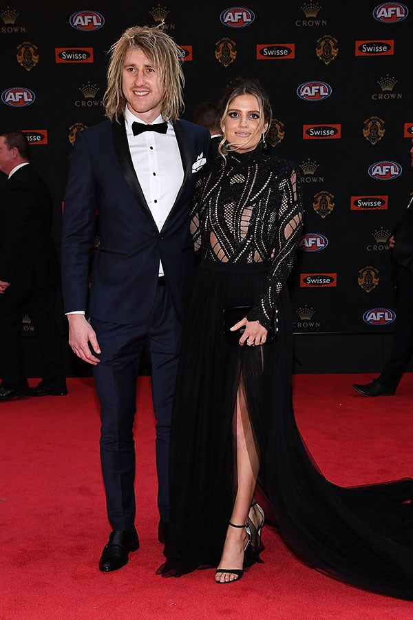 Kate Turner and Dyson Heppell.
