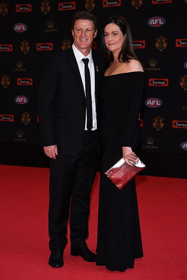 Damien Hardwick and Danielle Hardwick.