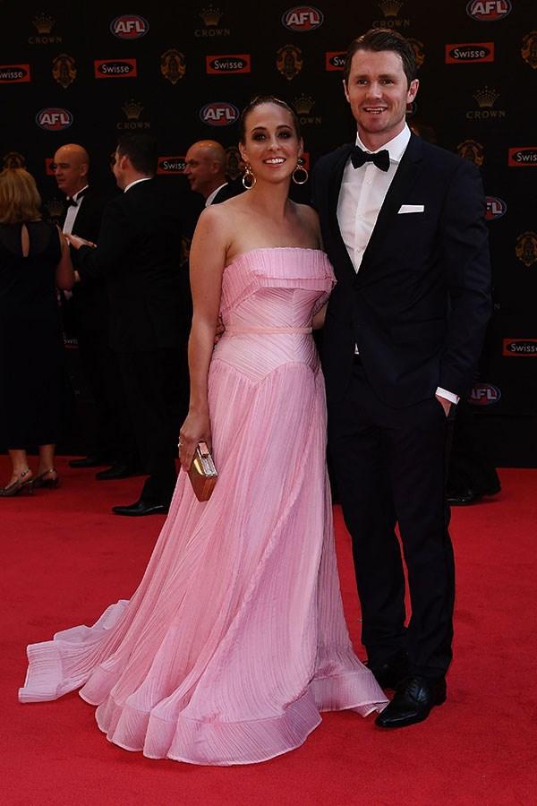 Patrick Dangerfield and Mardi Dangerfield.