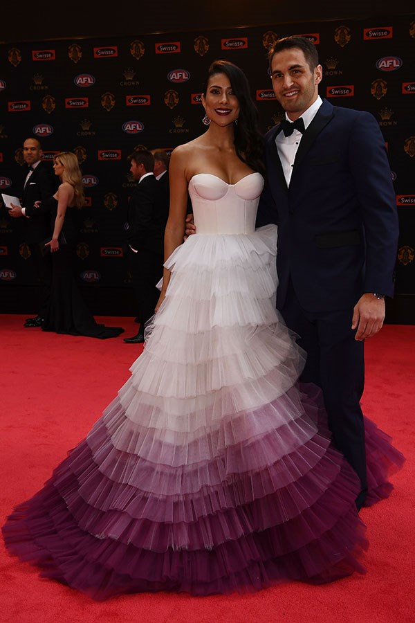 Josh Kennedy and Ana Calle.
