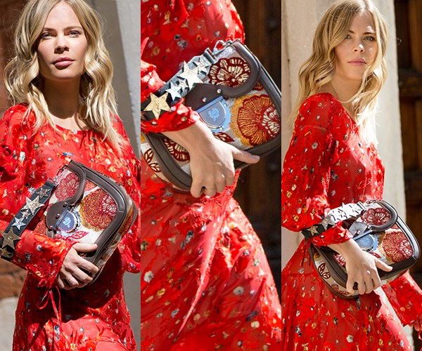 """**Embroidered Bags:** Jessie Bush of [We The People](http://www.wethepeoplestyle.com/) got first dibs on the new-season [Furla Ducale handbag](http://www.furla.com/au/en) ahead of the brand's S/S '18 preview and made a stylish case for embroidery entering your wardrobe in this street style shoot: """"I think that embroidery is having a strong run, something that Furla embraced fully in this latest collection. I'm looking forward to seeing the creative ways that embroidery is used in the coming seasons,"""" she tells *ELLE*. """"Furla is known for their playful prints and unexpected colour palettes, so I went with a bold red full-length dress by Preen,"""" she says on her outfit choice. The star-adorned embroidered [Furla Ducale bag](http://www.furla.com/au/en) is definitely on our radar.  <br><br>*Photography: Nabile Quenum*"""
