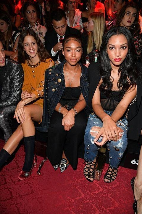 **Lori Harvey and Corrine Foxx** <br> <br> These two Hollywood haute shots (pictured here with Coco Konig) are fashion leaders in their native L.A. Lori (daughter of Steve and Marjorie) is engaged to a Dutch soccer player, while Corinne (daughter of Jamie) is a USC graduate and a mental health advocate.