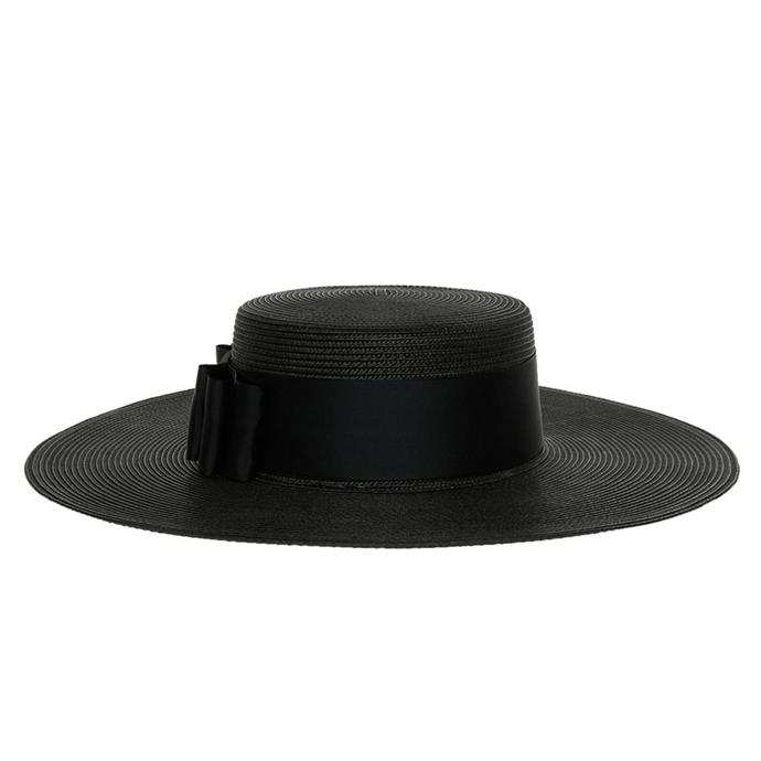 A wide-brimmed boater will give your trackside style a cool update. Hat, $79.95, [Gregory Ladner](https://www.myer.com.au/shop/mystore/fascinators-racing-hats/gregory-ladner-wide-brim-polyprop-boater-with-wide-grosgrain-band-and-flat-bow-538662700-538645600--1) at Myer