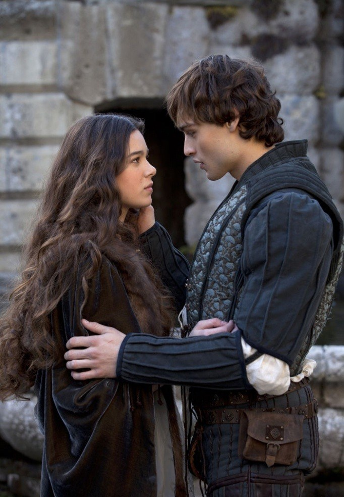 **Douglas Booth and Hailee Steinfeld in *Romeo & Juliet*** <br><br> As Romeo and Juliet, Douglas Booth and Hailee Steinfeld certainly looked the part in this 2013 film, which was a pretty traditional version of the tale. Fun fact: Ed Westwick played Tybalt.