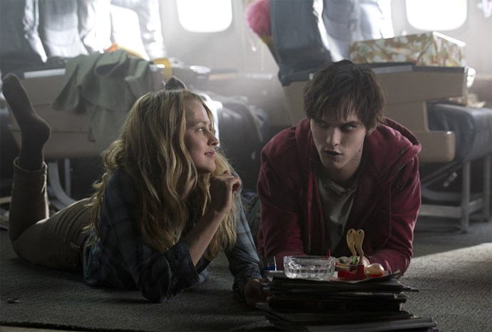 **Nicholas Hoult and Teresa Palmer in *Warm Bodies*** <br><br> Okay, a movie about a zombie and the apocalypse may not have seemed like it was based on *Romeo and Juliet*, but this 2013 flick was. Nicholas Hoult starred as R, a zombie who falls in love with Teresa Palmer's Julie, who's still human. Also, R kills Julie's boyfriend, which is kind of like when Romeo killed Tybalt, Juliet's cousin.