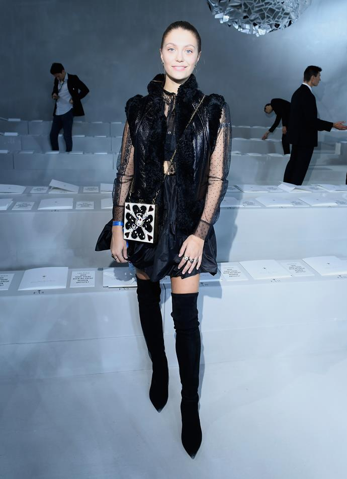 Heloise Agostinelli, at Dior.