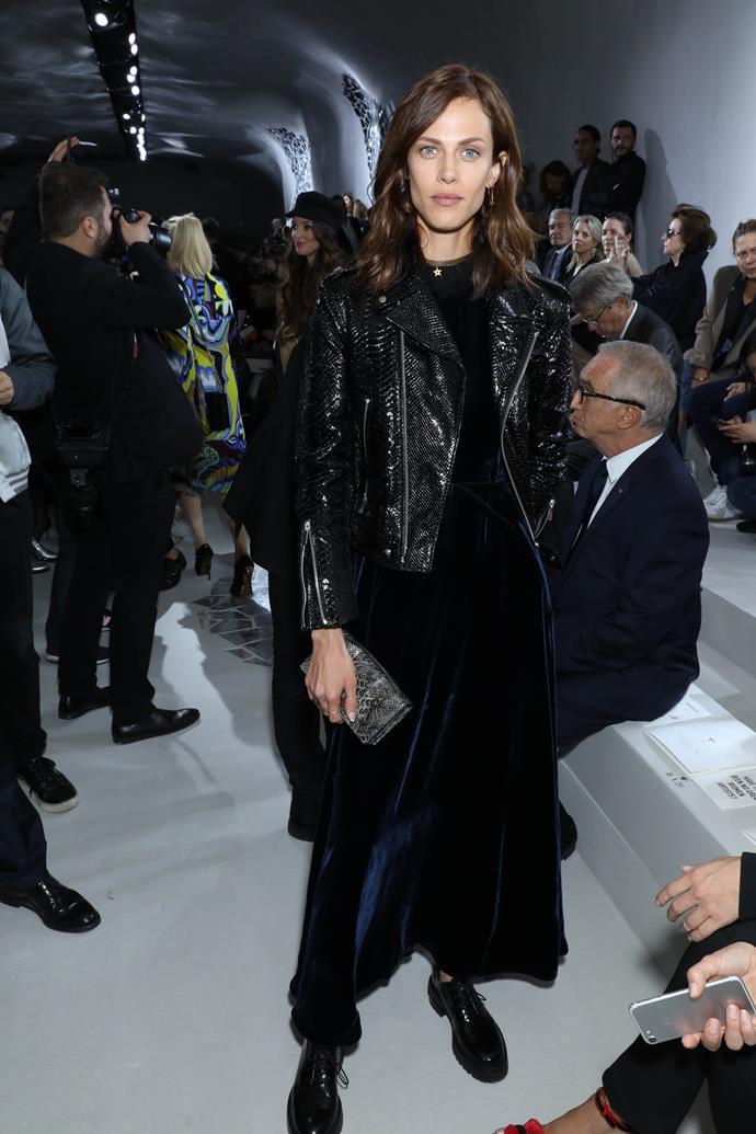 Amyline Valade, at Dior.