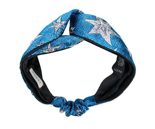 Headband, $435, Gucci at [Farfetch](https://www.farfetch.com/au/shopping/women/gucci-star-headband-item-12158779.aspx?storeid=9383&rtype=certona&rpos=5)