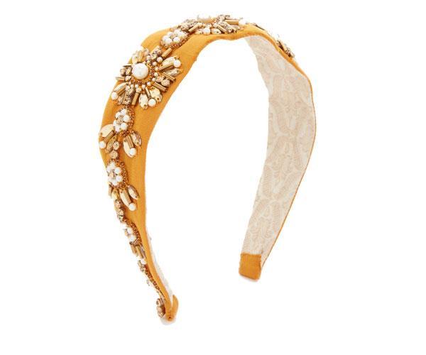 Headband, $64, Namrata Joshipura at [Shopbop](https://www.shopbop.com/crystal-embellished-headband-namrata-joshipura/vp/v=1/1534356414.htm?folderID=13575&fm=other-viewall&os=false&colorId=12921)