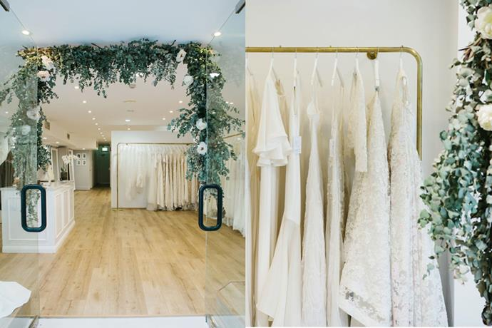 **[The Bridal Atelier](https://www.thebridalatelier.com.au/), Sydney**<br><br> The Bridal Atelier in Sydney's Double Bay features a floral window display that will definitely inspire a 'gram or two.  <br><br> *27 Bay St, Double Bay, Sydney NSW* <br><br> *pc: [@samanthamacabulos](https://www.instagram.com/samanthamacabulos/)*