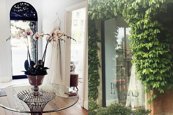 **[Pallas Couture](http://pallascouture.com/), Perth** <br><Br> With it's lush 'gram-worthy storefront and airy, light filled rooms, Pallas Couture's Perth flagship is like venturing into a bridal narnia.  <br><br> *343 Stirling Hwy, Claremont WA*