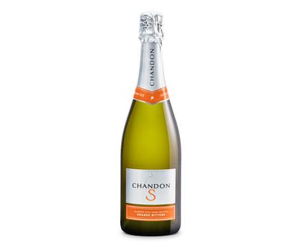 **Chandon S** <br><br> A blend of Chandon Sparkling and hand crafted orange bitters.  <br><br> $29, available at [Chandon Store]( https://store.chandon.com.au/product/Chandon-S?pageID=188b2901-9963-574c-ad2b-9c4402f14fc5&sortBy=DisplayOrder&maxRows=50&).
