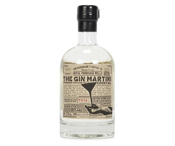 **Gin Martini, The Handmade Cocktail Co.** <br><br> Pot-still gin infused with a top quality vermouth. <br><br> $37, available at [Master of Malt]( https://www.masterofmalt.com/pre_bottled-cocktails/the-handmade-cocktail-comany/the-gin-martini-cocktail-50cl/).