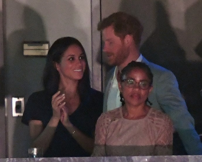 Prince Harry and Meghan Markle at the 2017 Invictus Games