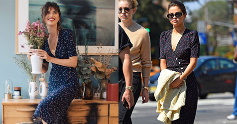 The French Girl Dress That Everyone Will Be Wearing This