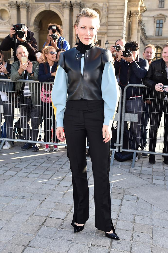 **The Front Row**<br><br> Cate Blanchett