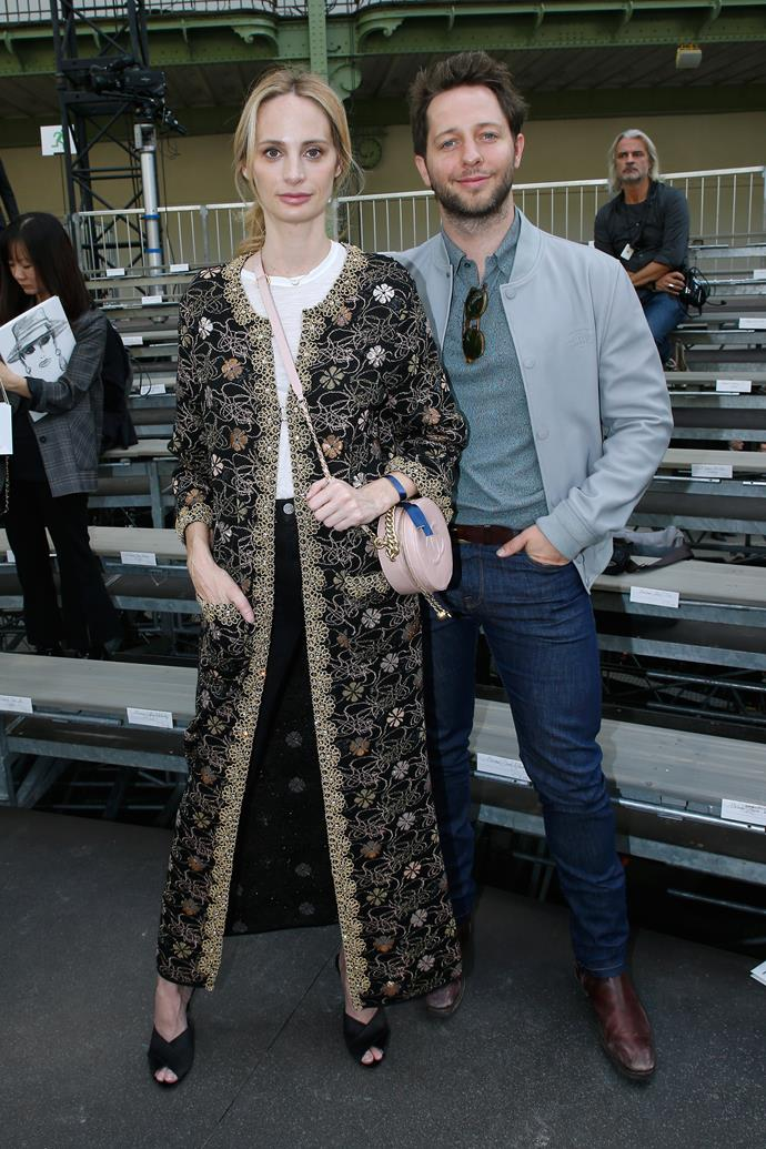 Lauren Santo Domingo and Derek Blasberg at Chanel spring summer '18