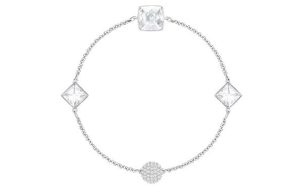 **Swarovski Remix Collection Bracelet/Necklace:** Using invisible magnets, the new Swarovski Remix Collection allows you to switch and change dainty bracelets into long, looped necklaces or chokers and vice versa. Clever huh? <br><br> Bracelet/Necklace, $99 at [Swarovski](https://www.swarovski.com/Web_AU/en/5365757/product/Swarovski_Remix_Collection_Crystal_Spike,_White,_Rhodium_plating.html)