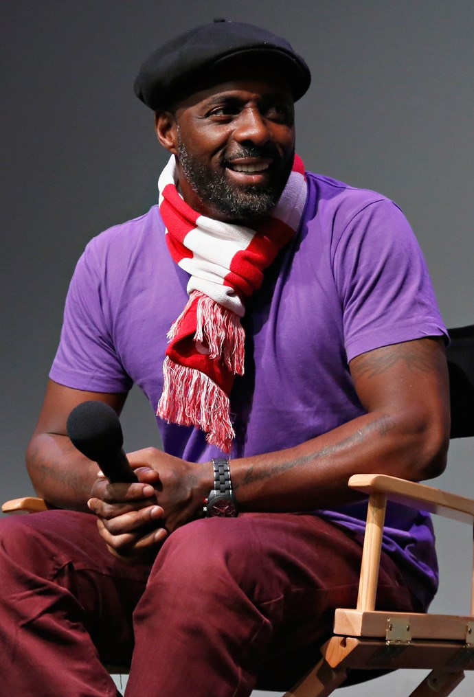 That time Elba tried colour blocking, and even he wasn't sure about it. But we loved him for trying.