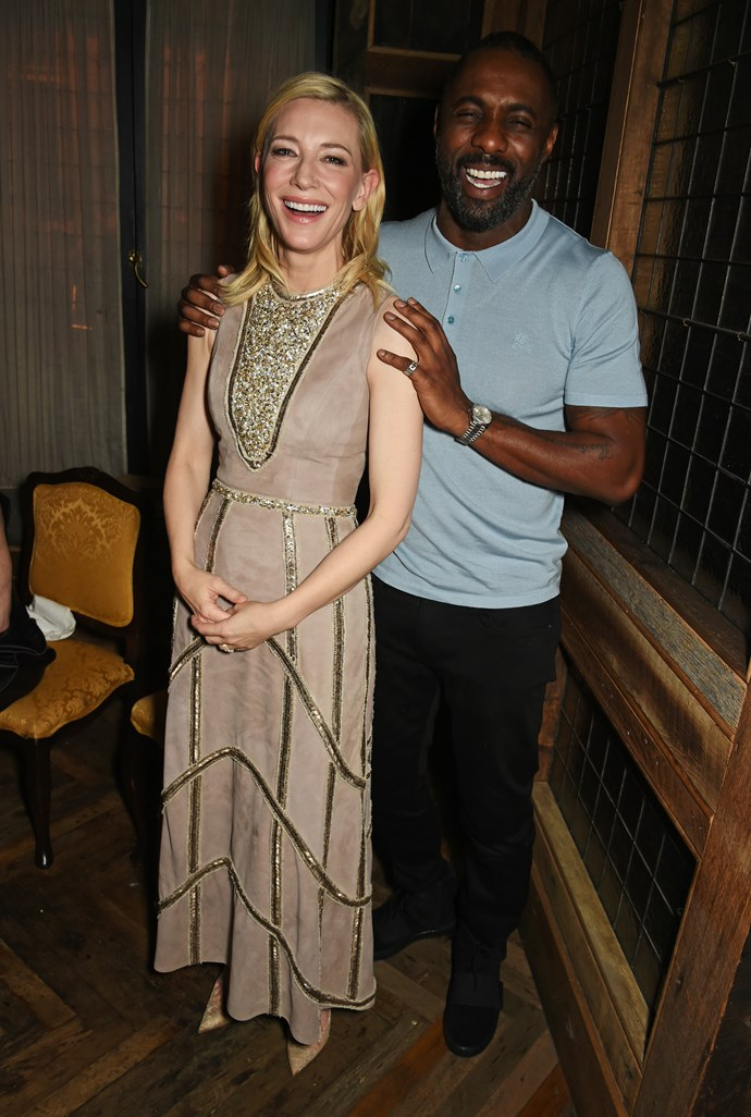 That time he was massively underdressed for the event, but Cate Blanchett loved him anyway.