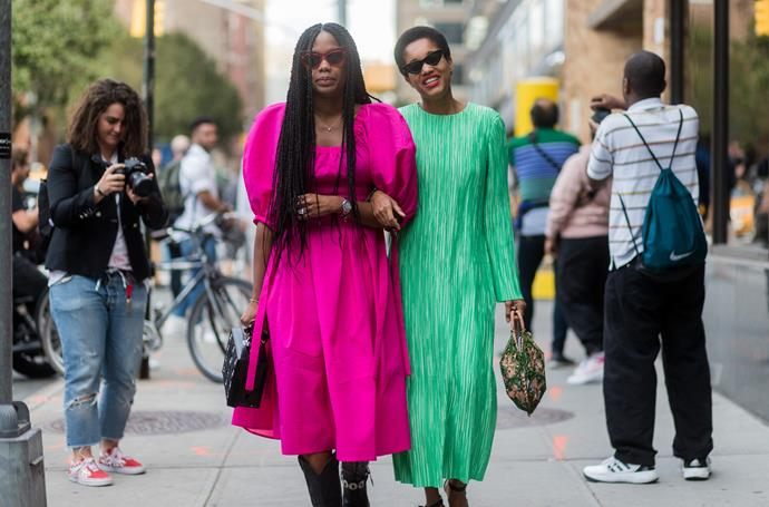 **Pleats Please**<br><br>  Pleats proved themselves a trend with sticking power at the spring summer '18 shows. Be it long sleeved, ankle-grazing dresses in vibrant colours at New York, metallic mid-length numbers in Milan or delicate feminine gowns in Paris.