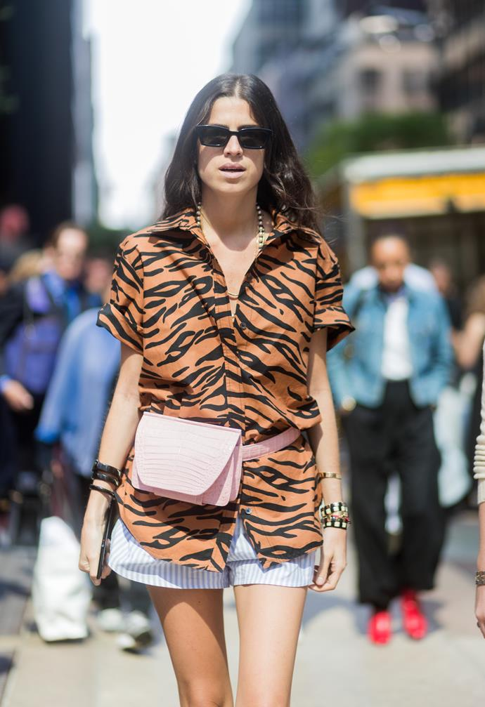 **Jungle fever**<br><br>  We get it, animal print is terrifying and harkens back to our worst memories of the 2000s. But if anyone were to make us rethink a leopard print coat, it was the SS18 showgoers.