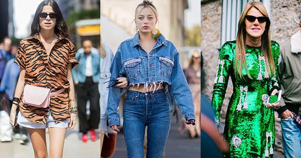 ce4eba78d3d9 Street Style Trends From Spring Summer 2018