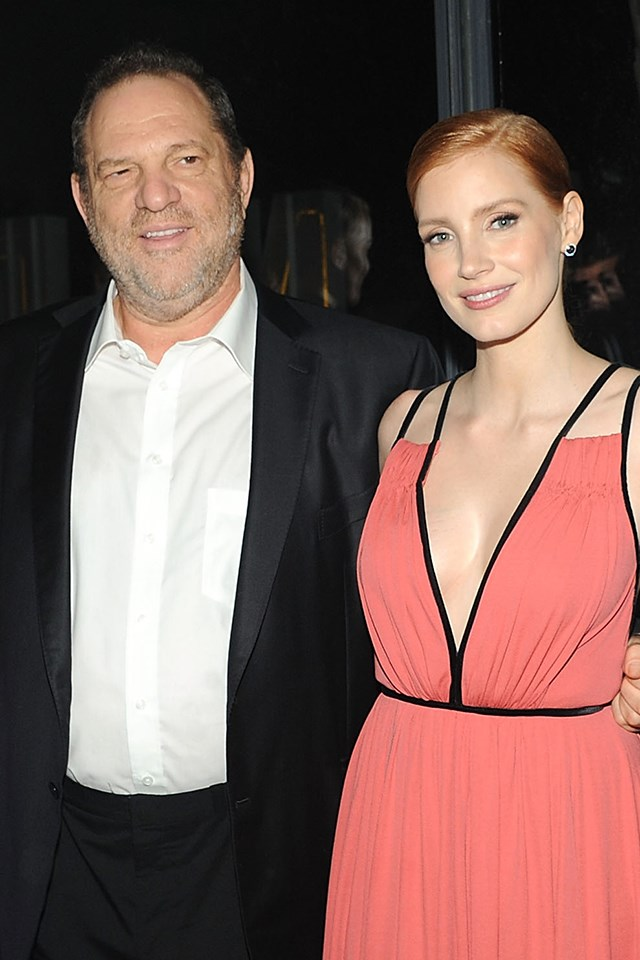 """**Jessica Chastain** <br><br> The actress, who has been outspoken about the dark side of Hollywood before, tweeted that she was aware of the stories about Weinstein that were making their way around the industry. <br><br> """"I was warned from the beginning. The stories were everywhere. To deny that is to create an enviornment [sic] for it to happen again,"""" she [wrote](https://twitter.com/jes_chastain/status/917504541708443650)."""
