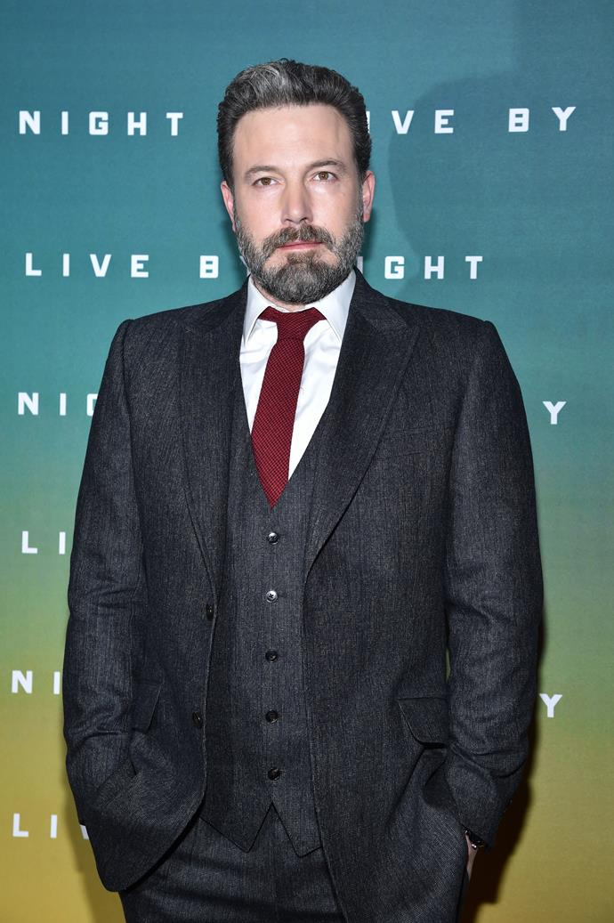 "**Ben Affleck** <br><br> Affleck sent out a statement via his Facebook, which read: ""I am saddened and angry that a man who I worked with used his position of power to intimidate, sexually harass and manipulate many women over decades. The additional allegations of assault that I read this morning made me sick. This is completely unacceptable, and I find myself asking what I can do to make sure this doesn't happen to others. We need to do better at protecting our sisters, friends, co-workers and daughters. We must support those who come forward, condemn this type of behaviour when we see it and help ensure there are more women in positions of power."""