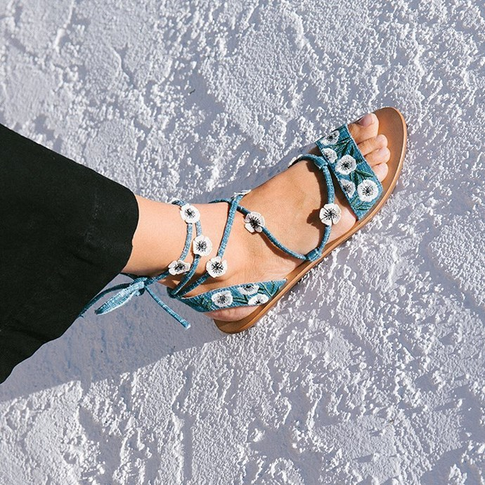"""**Loeffler Randall** <br><br> According to the designers behind the brand, designs for Loeffler Randall don't make the cut unless they're """"comfortable, chic and feel a little bit bold"""", which sounds like a pretty solid mantra.  <br><br> **Featured:** Sandal, $184 at [The Iconic](https://www.theiconic.com.au/fleura-ankle-wrap-sandals-488400.html) <br><br> **Handle:** [@loefflerrandall](https://www.instagram.com/loefflerrandall/?hl=en)"""