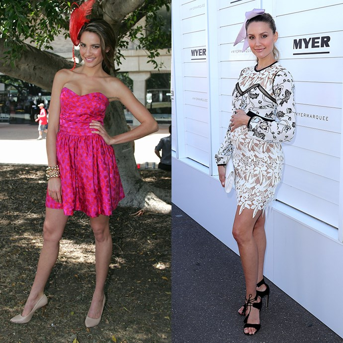 **Rachael Finch** <br><br> At Ladies Day in 2009 / At Oaks Day in 2016