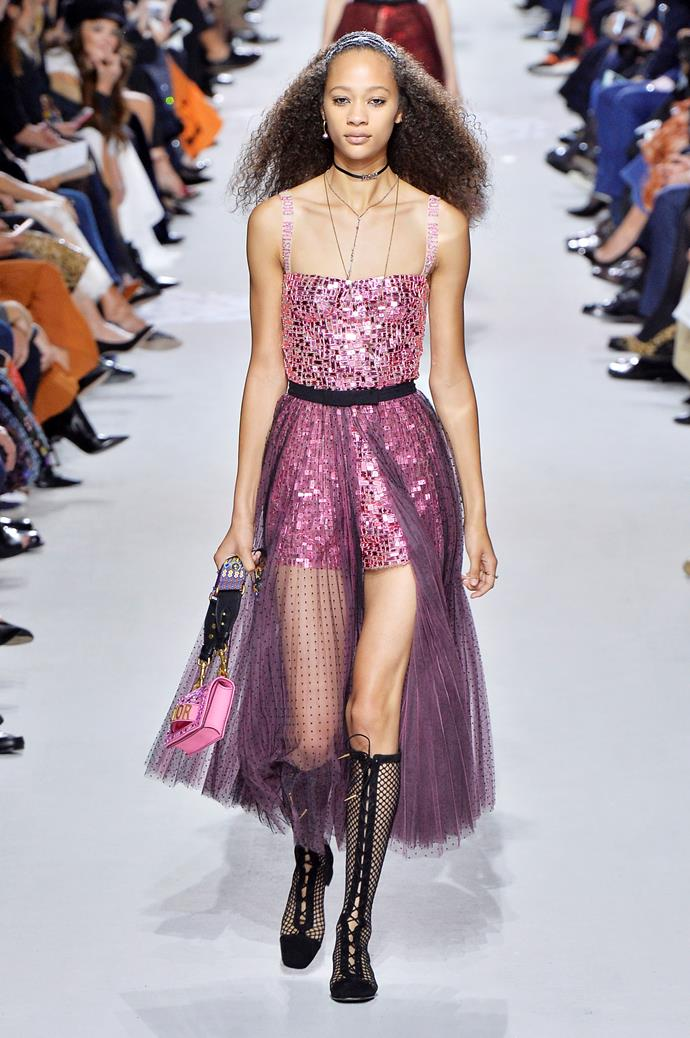 **Bust a move**  Bustiers have been teetering around for a few seasons now, but spring summer '18 was when they really hit critical mass. A bunch of designers, from the sexy (Balmain) to the avant-garde (Maison Margiela) embraced the trend, proving the silhouette is wearable, whatever your personal style.   Pictured: Dior spring summer '18