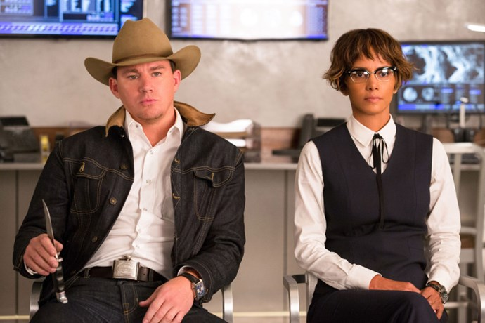 ***Queenslady*** <br> <br> Tatum recently starred in the second *Kingsman* movie, playing a rogue drug-taking cowboy, fighting for the Statesmen. At the end of the movie, you see a little sneak peek of Tatum—heavily suggesting that there will be a third film, and he's going to be in it. Perhaps Roxane Gay is in on this successful franchise and will be working on a third instalment. We're picturing a rival female team of spies to take on the Kingsmen (and whoop their asses, of course).