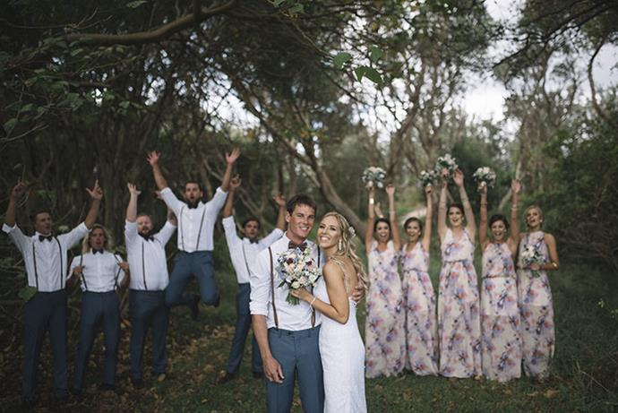Image via *[The Wedding Playbook](http://theweddingplaybook.com/waterfront-diy-surprise-wedding/)*.